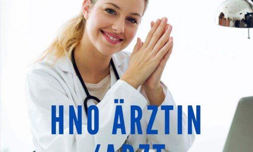 HNO Arzt gesucht