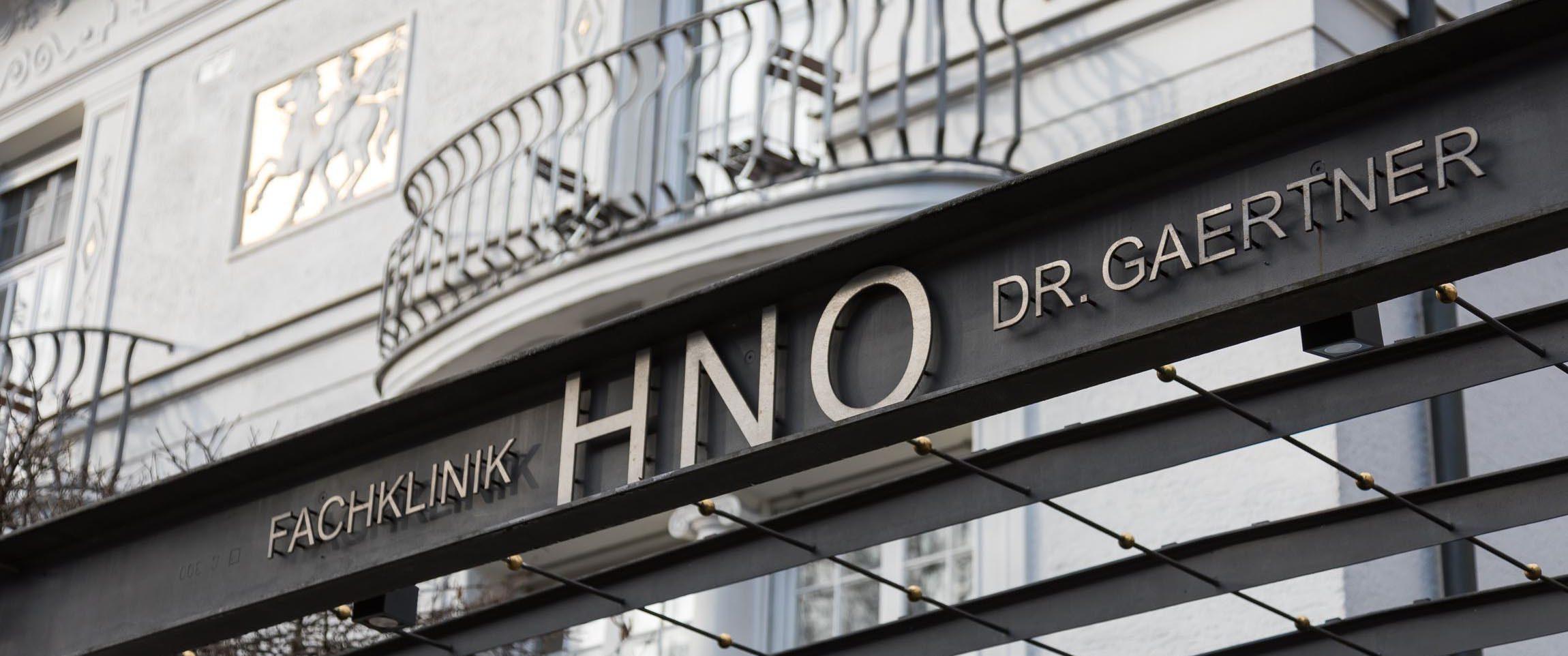 Willkommen Zur GaertnerKlinik  HNO Klinik Bogenhausen in München